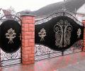 Красивые кованые ворота — «встречаем по одежке»