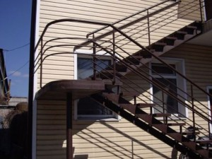 лестница сварная внешняя многоуровневая