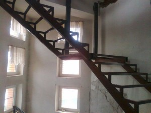 сварная лестница для дачи