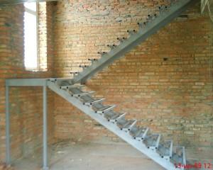 лестница металлическая сварная