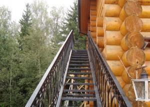 лестница сварная на чердак