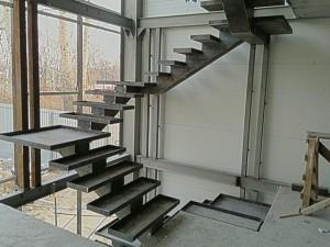 лестница металлическая внутренняя