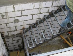лестница сварная под заказ