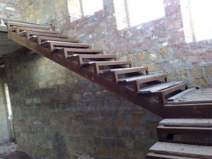 лестница сварная на второй этаж