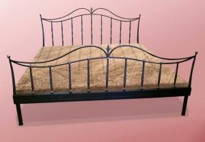 кровать двухспальная металл ковка