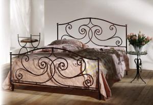 кованая мебель в спальню