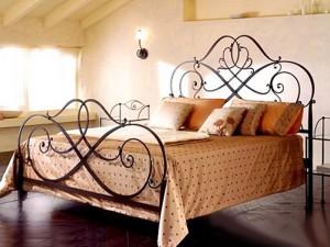 кровать кованая эксклюзивная двухспальная