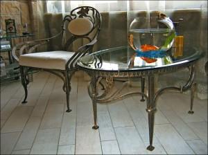 мебель кованая в гостиную в киеве
