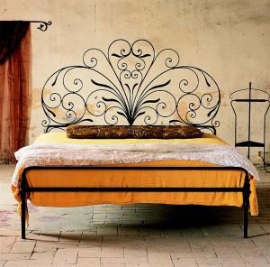 кованая кровать художественная ковка
