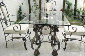 стол и стулья художественная ковка дорого