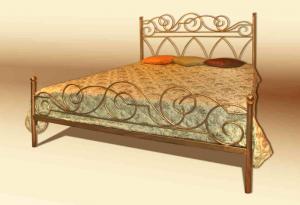 кованая кровать в спальню