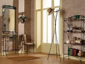 металлическая мебель для прихожей
