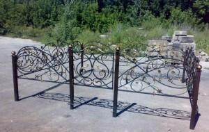 кованая ограда кладбищенская