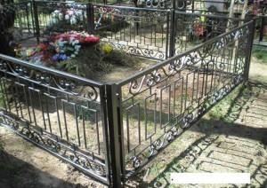 недорогая кованая оградка готовая в Киеве