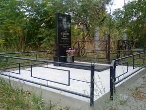 оградка на могилу кованая недорогая