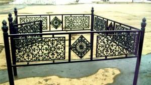 кованая ограда на заказ в Киеве