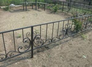 готовая кованая ограда в Киеве