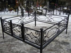 оградка для кладбища под заказ недорого
