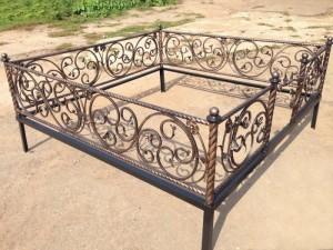 кованая ограда в Киеве под заказ