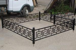 недорогая оградка для кладбища