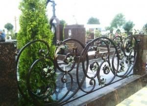 эксклюивная ограда для кладбища