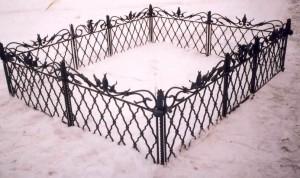 оградка на могилу на заказ
