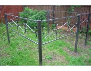 недорогая оградка на кладбище от производителя