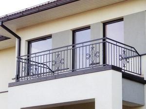 ограждение для балкона сварное с ковкой