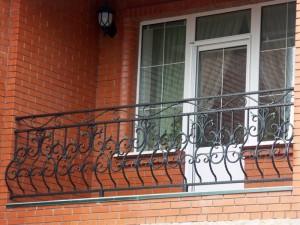 кованое ограждение для балкона луковица от производителя