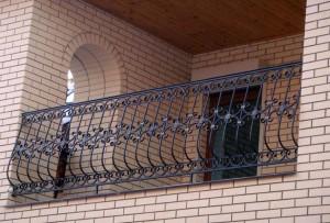 ограждение для балкона металл ковка киев