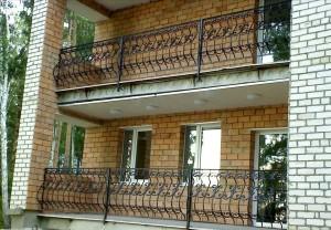 кованые ограждения для балкона и террасы от производителя