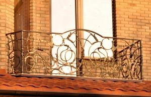 Ограждение балкона ковка под заказ Киев