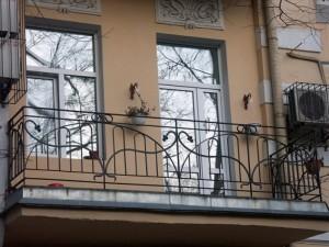 ограждение для балкона кованое под заказ в Киеве