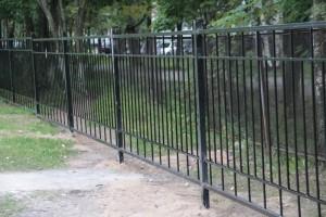 сварные секционные ограждения придомовой территории