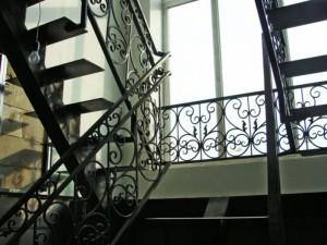 лестничные кованые ограждения от производителя в Киеве