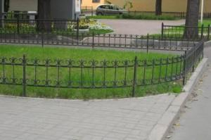 металлические ограждения для травы