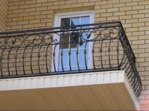 кованое ограждение для балкона от производителя