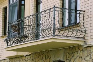 кованое ограждение для балкона под заказ