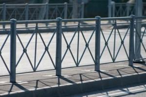 сварные ограждения пешеходной зоны