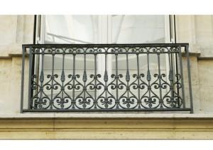 ограждение для французского балкона