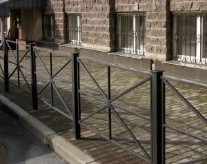 ограждения для тротуара