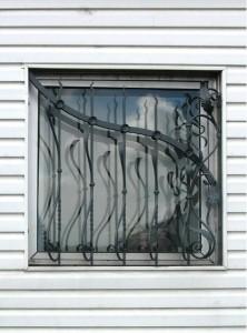 решетки на окна горячая ковка
