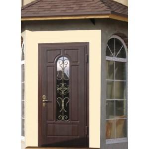входные двери металл ковка