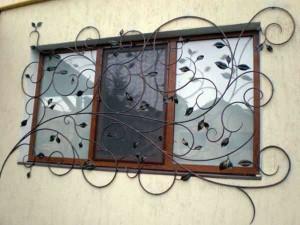 эксклюзивные кованые решетки на окна