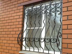 решетки на окна купить с установкой в киеве