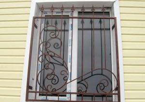 решетки на пластиковых окнах