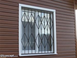 металлические оконные решетки от производителя