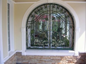 решетки на окна арочные