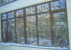 решетки на окна художественные