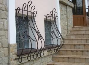 решетки на окна кованые оригинальные